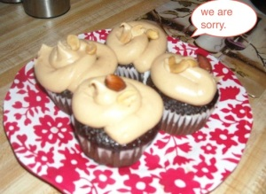famous poo cupcakes.