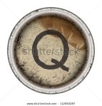 stock-vector-letter-q-grunge-typewriter-key-112993297