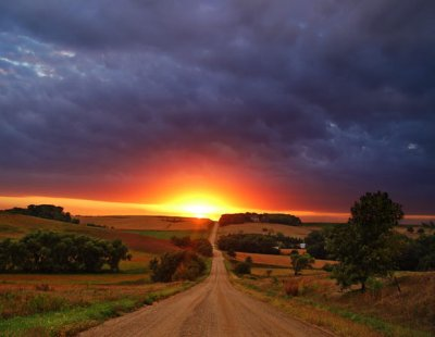 road+into+sunset