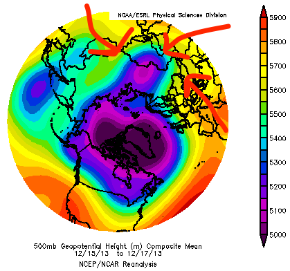 This is the polar vortex. Is it just me, or does it seem to be giving us a saucy gesture? Maybe it's just me.