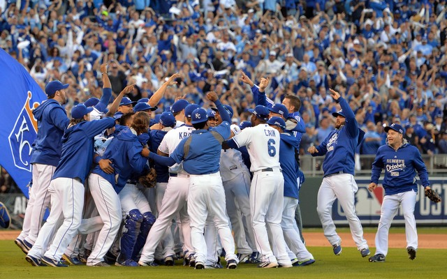 MLB: ALCS-Baltimore Orioles at Kansas City Royals